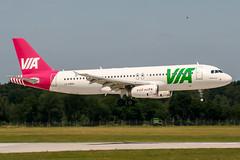 LZ-MDM (PlanePixNase) Tags: aircraft airport planespotting haj eddv hannover langenhagen air via airvia airbus 320 a320