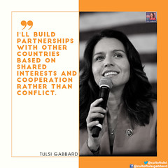 Building Partnership (Cult of Tulsi Gabbard) Tags: partnership foreign countries tulsigabbard quotes shared interests