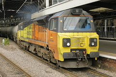 70802 6S89 (Rob390029) Tags: colas rail class 70 70802 newcastle central railway station ncl