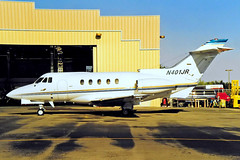 N401JR   Hawker-Siddeley 125/731 [25191] North Las Vegas~N 20/10/1998 (raybarber2) Tags: 25191 airportdata bizjet cn25191 flickr kvgt n401jr planebase print raybarber usacivil