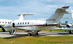N125NW   Hawker-Siddeley 125/731 [25222] New Orleans-Lakefront~N 10/10/2000 (raybarber2) Tags: 25222 abpic airportdata bizjet cn25222 flickr knew n125nw planebase print raybarber usacivil