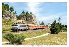 BB 7287 TER - Graveson (CC72080) Tags: bb7200 ter graveson corail vtu train locomotive lokomotive locomotiva lokomotiva vlak treno zug personenzug nezcassé languedocroussillon voiture