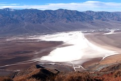 Death Valley National Park (Prayitno / Thank you for (12 millions +) view) Tags: death valley np national park ca california lowest point below sea level hottest place hot onearth extreme heat aerial view natural beauty landscape usa