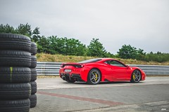 Race Mode. (MWP.) Tags: ferrari 458 speciale 458speciale italia rosso corsa livery standard hardcore car supercar v8 tor track raceway torpoznań poznań poland italian race racing mpw art photo nice photography photoshoot special