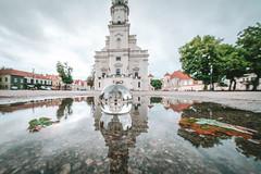 Kaunas old town reflection | #GlassBallProject (A. Aleksandravičius) Tags: irix 11mm lens rotušė kaunas town hall