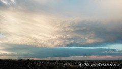 July 9, 2019 - Beautiful clouds over the Front Range. (ThorntonWeather.com)