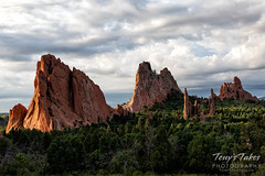 July 6, 2019 - The Garden of the Gods at sunrise. (Tony's Takes)