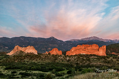 July 7, 2019 - The Garden of the Gods at sunrise. (Tony's Takes)