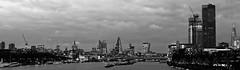 River Thames west from Waterloo Bridge