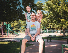 Day 603 | Triad (JL2.8) Tags: boise idaho unitedstatesofamerica kids family love park sunny canon 6dmk2 project365 365 photochallenge day603