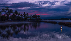 Calm After The Storm (Thüncher Photography) Tags: fujifilm gfx50s mediumformat scenic landscape waterscape sky clouds colors nature outdoors beach tropical refelections sunset florida southeastflorida jupiter duboispark fineartphotography lighthouse