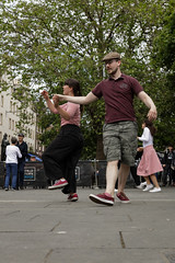 Edinburgh Swing Dance Society Grassmarket July 2019-167 (Philip Gillespie) Tags: edinburgh city urban swing dance society scotland grassmarket men women boys girls kids family friendly hands feet heads arms legs colour blue green red yellow castle outdoor outside canon 5dsr photography event workshops classes public lindy hop dresses hair faces shoes moving open spaces street pavement