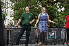 Edinburgh Swing Dance Society Grassmarket July 2019-239 (Philip Gillespie) Tags: edinburgh city urban swing dance society scotland grassmarket men women boys girls kids family friendly hands feet heads arms legs colour blue green red yellow castle outdoor outside canon 5dsr photography event workshops classes public lindy hop dresses hair faces shoes moving open spaces street pavement
