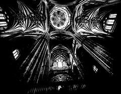Adoration2.jpg (Klaus Ressmann) Tags: klaus ressmann omd em1 autumn catedralnueva esalamanca interior architecture blackandwhite contrast flicvarious nave klausressmann omdem1 innamoramento
