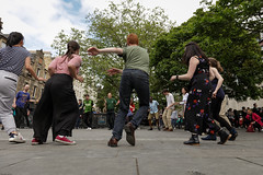 Edinburgh Swing Dance Society Grassmarket July 2019-233 (Philip Gillespie) Tags: edinburgh city urban swing dance society scotland grassmarket men women boys girls kids family friendly hands feet heads arms legs colour blue green red yellow castle outdoor outside canon 5dsr photography event workshops classes public lindy hop dresses hair faces shoes moving open spaces street pavement