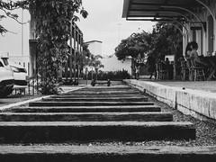 Estação de trem de Bananeiras (KyllerCG) Tags: américadosul bananeiras brasil brazil brazilsnortheast ne nordeste pb paraíba regiãonordeste southamerica blackandwhite cidadesnordestinas street urbanexploration