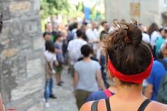 people (archgionni) Tags: people gente strada street artisti artists fuoco focus capelli hair colori colors rosso red pennabilli italy romagna