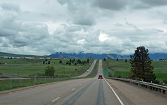 on the road in Montana (SomePhotosTakenByMe) Tags: ontheroad auto car montana outdoor usa america amerika unitedstates interstate i90 autobahn