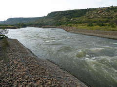 Ash River Outfall near Clarens (Proteus_XYZ) Tags: southafrica freestate karoo clarens ashriveroutfall outletofdeliverytunnelnorthoflesothohighlandswaterproject