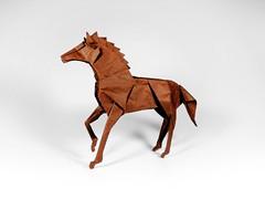 horse (guangxu233) Tags: horse kamiyasatoshi animals art paper paperart fold paperfolding origami origamiart 折纸 摺紙 折り紙 折り紙作品