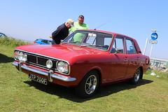 Ford Cortina JTP700F (Andrew 2.8i) Tags: classics meet show cars car classic weston westonsupermare british fordofbritain saloon sedan mark 2 ii mk mk2 gt 16 1600 1600gt cortina ford