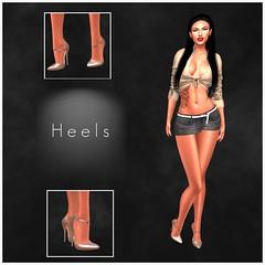 HEELS @ On9 July 2019 (Geoffrey Firehawk MR V♛ Belgium 2014) Tags: mannequin fashion model shoes mesh modeling sl event secondlife footwear heels mode fashionpixel belleza maitreya slink on9