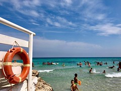 (AleColamonici) Tags: travel sea summer people holiday children salento puglia iphone monopoli capitolo