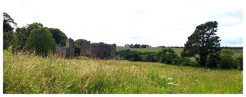 Hailes Castle, East Lothian.
