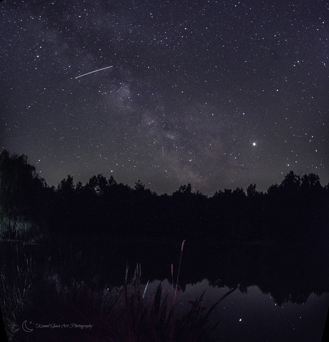Milky Way Bouzy La Forêt, France