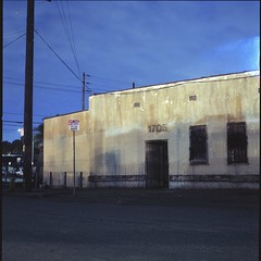 1705 (ADMurr) Tags: la eastside industrial hasselblad 500cm 50mm distagon zeiss kodak ektar night dad305 fullframe