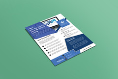 Flyer-m (ruhuld89) Tags: advertise advertising agency ai blue bundle business businessflyer clean company corporate corporateflyer creative elegant eps flyer fresh green marketing modern multipurpose post printready professional promotion psd simple template