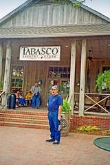 USA-La Louisiane,  l'usine de Tabasco, voici la cafétéria (Roger-11-Narbonne) Tags: voiture louisiane usa mississippi fleuve eau maison paysage rivière sauce tabasco lac sel cafétéria