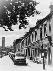 Columbia Road (marc.barrot) Tags: shotoniphone urbanlandscape monochrome uk e2 london shoreditch columbiaroad