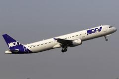 Joon A321 F-GTAJ at Birmingham Airport BHX/EGBB (dan89876) Tags: joon air france airbus a321 a321212 fgtaj birmingham international airport takeoff runway 15 bhx egbb