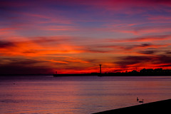 A burning sky (Andrzej Kocot) Tags: andrzejkocot art adventure landscape landscapes fineart creative clouds colors photography poland polska sky sunset surreallandscape sunsetmood surreal night nightsky nightscapes nightmood nature hitech olympus
