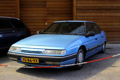 1990 Citroën XM Injection (Dirk A.) Tags: citroën injection 1990 xm onk sidecode4 yg86vx