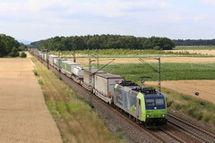 BLS Cargo Re 485 012-9 Cargo Beamer, Graben (michaelgoll777) Tags: bls re485 traxx