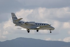 D-CNOC (IndiaEcho) Tags: airport geneva gva lsgg cointrin canon eos switzerland aircraft aviation aeroplane civil airfield 1000d cessna 680 citation xls dcnoc