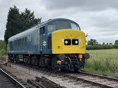 45149 running round its train at Toddington (372Paul) Tags: class26 class45 brcw peak 5310 5343 class20 8137 ye2760 yorkshireengineco toddington 35006 bullied merchantnavy gwsr gloucestershirewarwickshirerailway sulzer englishelectric