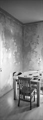 Nur mal eben streichen, Schatz. (fluffisch) Tags: fluffisch darmstadt bessungen hasselblad xpan panorama 45mmf40 rangefinder messsucher analog film ilford fp4