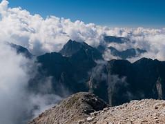 Illusion(explore) (matteo.buriola) Tags: slovenia friuli monte mangart alpi giulie mountains trekking hiking landscape panorama clouds sky nature altitude panasonic lumix gx80 tarvisiano