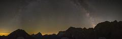 Milky way over Karwendel (Bernhard_Thum) Tags: bernhardthum karwendel thum otust1428 distagonotus2814zf zf zf2 carlzeiss nature milkyway milchstrasse nightonearth