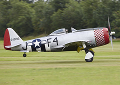 P-47 Thunderbolt 'Nellie' (Graham Paul Spicer) Tags: uk british shuttleworth collection oldwarden airfield airshow display aviation aircraft plane flying