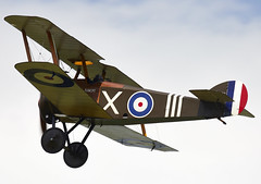 Sopwith Camel (Graham Paul Spicer) Tags: uk british shuttleworth collection oldwarden airfield airshow display aviation aircraft plane flying