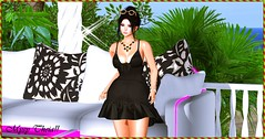Freed From Desire!! (MysyTheia (MysteryHot Resident)) Tags: mesh bento event dress black sexy garden on9 love desire shoping sweet nature adorable