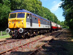 37306 Boscarne Junction (3) (Marky7890) Tags: 47306 class47 boscarnejunction bodminwenfordrailway cornwall heritage diesellocomotive