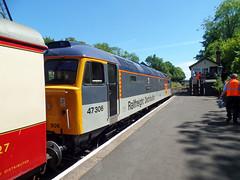 47306 Bodmin General (2) (Marky7890) Tags: 47306 class47 bodmingeneral bodminwenfordrailway cornwall heritage diesellocomotive