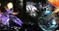 VeGeTaL PLaNeT  (2) (Osiris LeShelle) Tags: secondlife second life sim colors bubbles vroum short osiris leshelle vegetal planet beautiful bubble travel experience