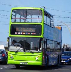 Blackpool (Andrew Stopford) Tags: v145mev dennis trident alexander alx400 catch22 blackpool stagecoach goldentours