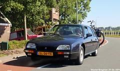 Citroën CX 22 TRS 1987 (XBXG) Tags: sl36yx citroën cx 22 trs 1987 citroëncx kanaaldijk koedijk alkmaar nederland holland netherlands paysbas youngtimer old classic french car auto automobile voiture ancienne française france frankrijk vehicle outdoor